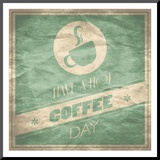 Coffee Mounted Print by Grace Pullen