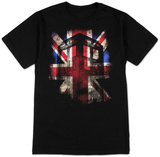 Doctor Who - Tardis Union Jack T-skjorter