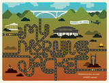 My Morning Jacket: Nashville, 2010 Serigrafía por Mike Davis