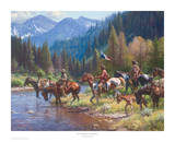 New Wealth for the Blackfeet Posters by Martin Grellle