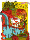MGMT: Halloween Serigraph by Mike Davis