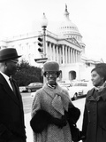 Shirley Chisholm, Wesley Holder,  - 1969 Photographic Print by Maurice Sorrell