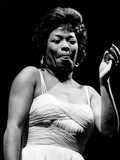 Sarah Vaughan Photographic Print by G. Marshall Wilson
