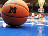 Elon Phoenix vs Duke Blue Devils - Detail of Basketball: North Carolina, December 20, 2012 Photographic Print