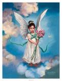 April Day Lily 高品質プリント : サンドラ・カック