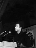 Huey Newton - 1971 Photographic Print by Howard Simmons