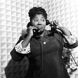 Mahalia Jackson Fotografie-Druck von William Lanier