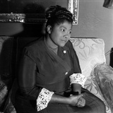 Mahalia Jackson - 1960 Papier Photo par William Lanier