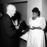 Mahalia Jackson, Dwight D. Eisenhower 1959 Fotoprint van Ellsworth Davis
