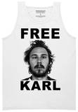 Tank Top: Workaholics - Free Karl Shirts