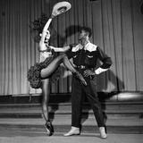 Arthur Mitchell, Tanaquil LeClercq - 1955 Photographic Print by Moneta Sleet