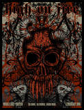 High on Fire Serigrafía por Seldon Hunt