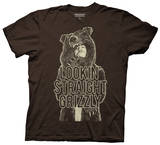 Workaholics - Straight Grizzly T-shirts