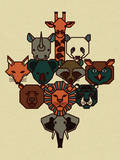 Animal Serigraph by Mike Davis