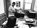 Barbara Jordan - 1972 Photographic Print by Ted Williams