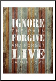 Ignore Mounted Print by Grace Pullen
