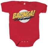Infant: Big Bang Theory - Bazinga! No Face Onesie Shirt