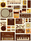 Tools of the Trade Serigraph by Mike Davis
