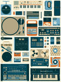 Tools of the Trade Variant Serigraph by Mike Davis