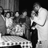 Mahalia Jackson - 1960 Fotografie-Druck von Ellsworth Davis