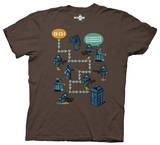 Dr. Who - Worlds In Time Game T-Shirt