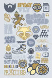 Logo Anthology Serigraph by Mike Davis