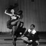 Arthur Mitchell, Tanaquil LeClercq - 1955 Photographic Print by Moneta Sleet