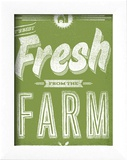 Fresh from the Farm Affiche par Hero Design 