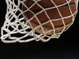 Kansas Jayhawks - Nothin' but Net Photographic Print