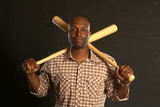 Torii Hunter No. 48 - Right Fielder for the Detroit Tigers Posters