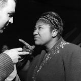 Mahalia Jackson - 1958 Papier Photo par G. Marshall Wilson