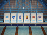 National Championship Banners University of North Carolina in Chapel Hill Fotografisk tryk