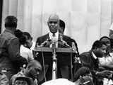 Roy Wilkins - 1968 Photographic Print by Howard Simmons