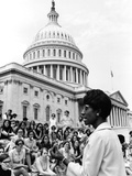 Shirley Chisholm - 1970 Photographic Print by Maurice Sorrell