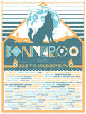 Bonnaroo 2012 Serigraph by Mike Davis