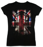 Juniors: Dr. Who - Tardis Union Jack T-Shirt