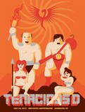 Tenacious D Concert Poster Serigraph by Mike Davis