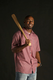 Michael Bourn No. 24 - Center Fielder for the Atlanta Braves Poster