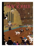 The New Yorker Cover - January 20, 1934 Premium Giclee Print by Adolph K. Kronengold