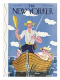 The New Yorker Cover - July 30, 1932 Premium Giclee Print by Ilonka Karasz