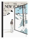 The New Yorker Cover - January 15, 2001 Premium Giclee Print by Jean Claude Floc'h