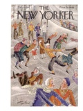 The New Yorker Cover - February 6, 1932 Premium Giclee Print by Constantin Alajalov
