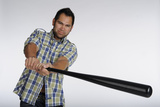 Johnny Damon - Outfielder for the Cleveland Indians Print