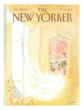 The New Yorker Cover - June 28, 1982 Premium Giclee Print by Jean-Jacques Sempé