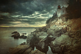 Bass Harbor Mood Photographic Print by Vincent James
