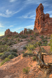 Morning Light and Sandstone at Arches, Utah Photographic Print by Vincent James