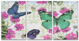 Butterfly Inspirations Triptych Art Wood Sign