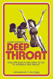 Deep Throat Retro Adult Movie Poster Posters