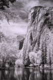 El Capitan and the Merced River, Infrared Photographic Print by Vincent James
