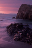 Purple Mood and Mist Sunset Photographic Print by Vincent James